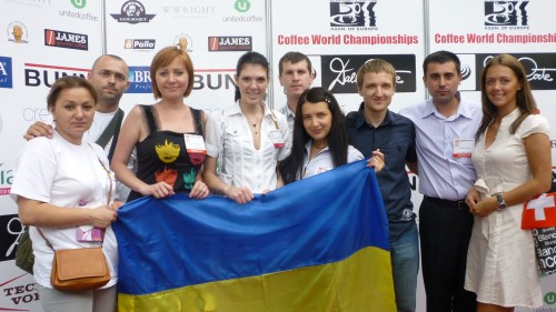 Ukraine Barista Team London